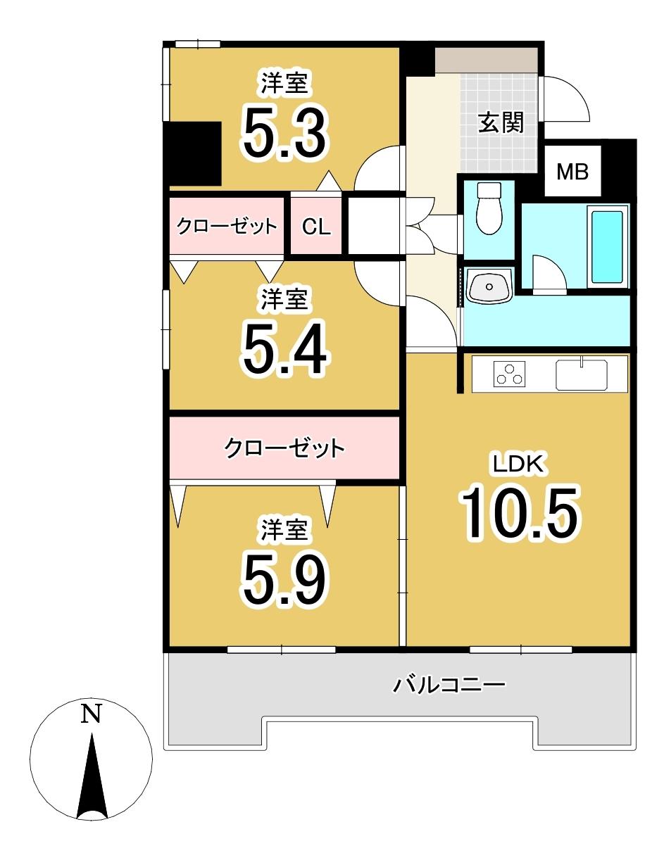ライオンズマンション旭山公園通り/札幌市中央区 画像3