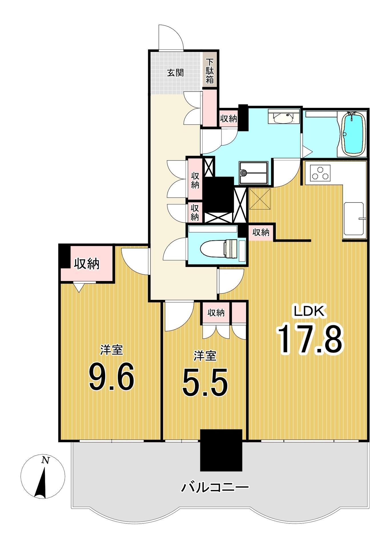 パークハウス北2条/札幌市中央区 画像3