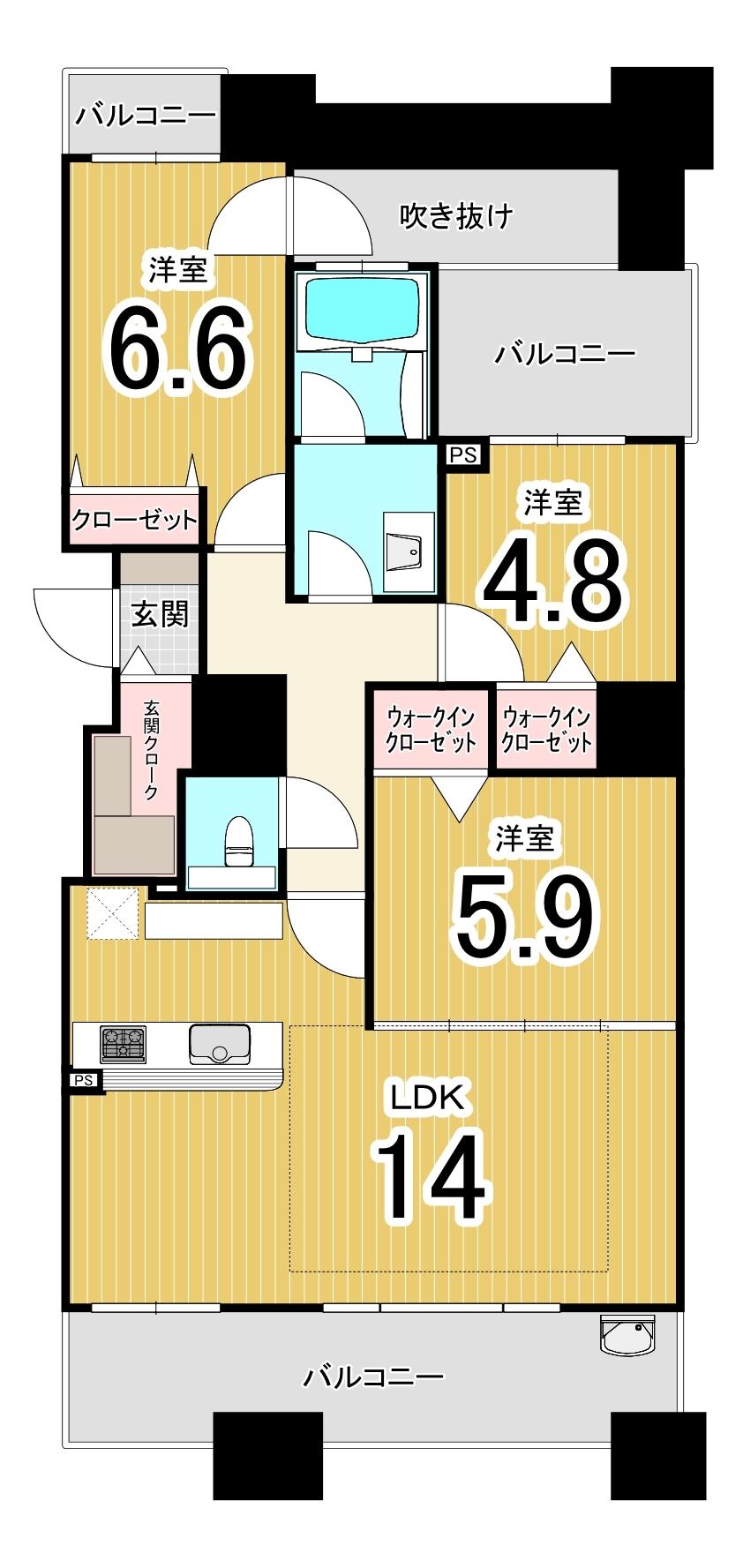 グランファーレ札幌山鼻グランフォレスト/札幌市中央区 画像3
