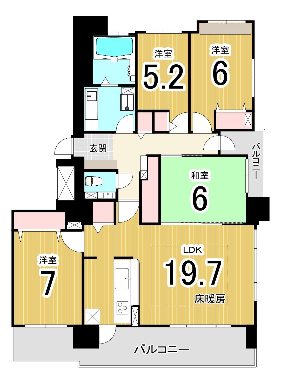 ラピス山鼻14条/札幌市中央区 画像3